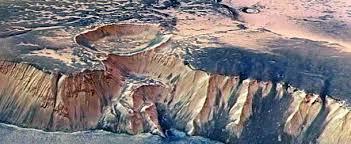 Resultado de imagen de Imágenes de  Marte que dan la sensación de que allí hay vida
