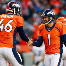 The Broncos re-sign long snapper Aaron Brewer to a new four-year ...