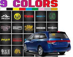 Funny Vinyl Stickers Decal Jdm Racing On Car Truck Rear Window Bumper 54 Typ 0 99 Picclick