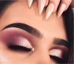 rose gold eye makeup cat eye makeup