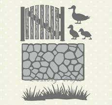 L Sunday Crafts Stencils Grass Fence Ducks Garden Metal Cutting Dies Scrapbooking Embossing Card Paper Craft Making Decor Tools Aliexpress