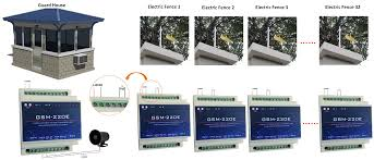 Gsm Electric Fence Remote Control Monitoring System Gsm 220e