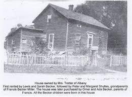 Miller, Frances (Becker) - Memories - Helderberg Hilltown Biographies