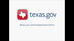 texas gov vehicle registration renewal