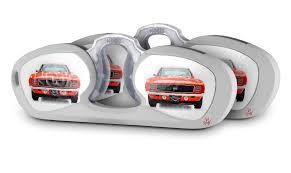 Nooz Optics Retangle Case Skins 1969 Chevy Camaro Orange 3813 Uskins