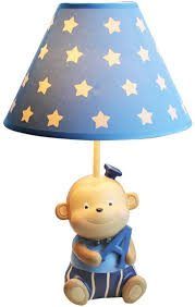 Amazon Com Table Lamp Monkey Small Creative Children S Room Boy Cartoon Cute Nursery Dimmable Bedroom Bedside Lamp Reading Lampa Size 3319 Cm 12 997 48 Inch Home Kitchen