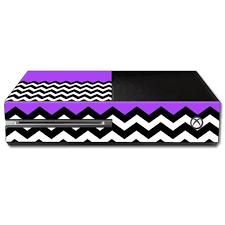Shop Skin Decal Wrap For Microsoft Xbox One Console Sticker Purple Free Shipping On Orders Over 45 Overstock Com 26100528