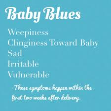 recognize and treat baby blues vs postpartum depression baby chick