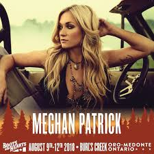 Country star Meghan Patrick to perform at Boots & Hearts 2018 ...