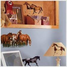 Amazon Com 24 New Wild Horses Wall Decals Horse Room Stickers Kids Bedroom Decor New By Ww Shop Home Kitchen