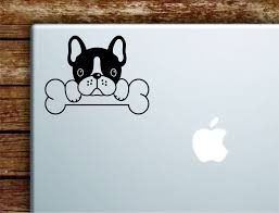 French Bulldog Dog Laptop Wall Decal Sticker Vinyl Art Quote Macbook A Boop Decals