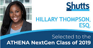 Hillary Thompson selected to the ATHENA NextGen Class of 2019 ...