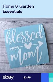 Blessed Mom Car Decal Mama Decal Yeti Cup Decal Mama Sticker M1002 Decals For Yeti Cups Car Decals Cup Decal