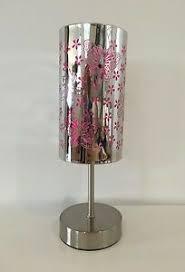 Butterfly Metal Touch Lamp Childs Girls Kids Bedroom Nursery Night Light Ebay
