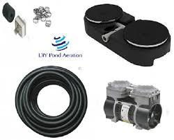 fish pond aerator system w 50 wtd hose