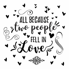 Roommates All Because Two People Fell In Love Peel And Stick Wall Decals Hayneedle
