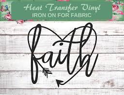 Amazon Com Faith Heart Faith Shirt Faith Decal Faith Arrow Shirt Iron On Baptism Gift Jesus Shirt Christian Shirt Church Camp Shirt Love Decal Bible Verse Quote Handmade