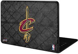Amazon Com Skinit Decal Laptop Skin Compatible With Google Pixelbook Go Officially Licensed Nba Cleveland Cavaliers Dark Rust Design Electronics