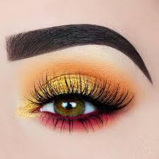 most aesthetic orange makeup ideas