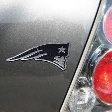 New England Patriots Premium Metal Car Emblem