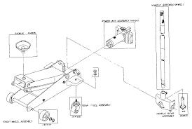 walker bottle jack parts diagram