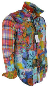 New Robert Graham URBAN DREAMS $398 Embroidered Abstract Limited Editi –  Annie's Unique Accessories