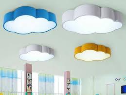 Creative Acrylic Cloud Led Ceiling Lamp Kids Bedroom Kindergarten Pendant Light For Sale Online