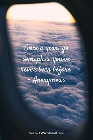 inspirational travel quotes sea to sky wanderlust