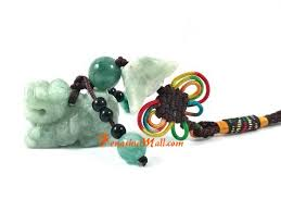 green jade pi yao good luck charm