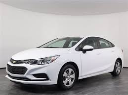used chevrolet cruze off lease only