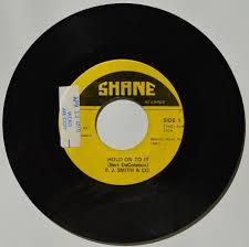 PJ Smith & Co. 'Hold On To It' c/w 'Hey Mister'. Shane Radio Station Copy.