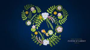 flower garden festival wallpaper