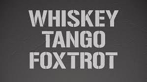 hd wallpaper whiskey tango foxtrot