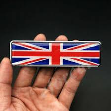 Metal The Union Jack Uk Flag Car Emblem Badge Motorcycle Fuel Tank Sticker Decal Ebay