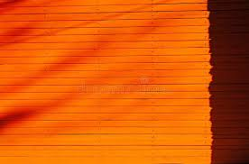 Orange Wooden Fence Texture Stock Photo Image Of Fence Texture 162915722