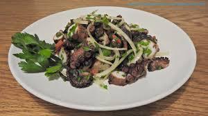 Grilled Octopus Salad - Primal ...