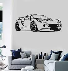 Car Bikes Boats Wall Vinyl Decal Wallstickers4you