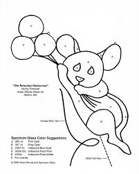 reluctant balloonist mouse patrones
