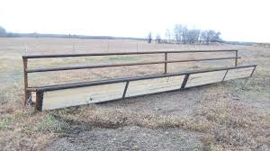 Fence Line Bunk Feeder Klassen Cattle Equipment