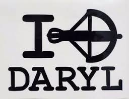 I Love Daryl Walking Dead Cool Car Truck Window Vinyl Decal Sticker 12 Colors Ebay