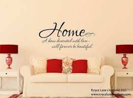 Home Quote Decal Family Love Wall Decals Family Quote Wall Etsy Living Room Decals Living Room Quotes Wall Stickers Family