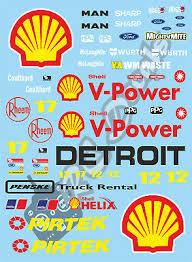 Xray Vbr Pr Racing Schumacher 1 10 Touring Car Decal Sticker Set Shell Racing