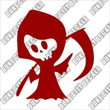 Duke City Decals On Twitter Tall Grim Reaper Car Vinyl Sticker Decal Https T Co S2xx8y7red Dukecitydecals Etsy Decal