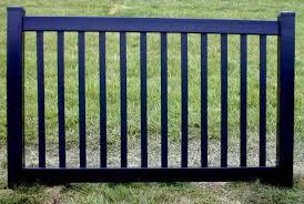 Black Vinyl Fence 4 Ft X 6ft Bsl 60 Fence Material