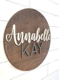 Personalized Wooden Name Plaques Boston Creative Company