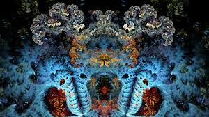 fractal art wallpaper uhd 4k