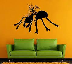 Amazon Com Ant Man Wall Vinyl Decal Ant Man Wall Vinyl Sticker Comics Decals Wall Decor Vinyl 9cfg Kitchen Dining