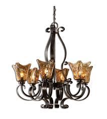 uttermost vetraio 6 lt chandelier in