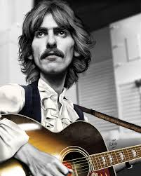 George Harrison 1968 Caricature – Paul King Artwerks