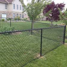 China 6 Black Color Yard Guard Chain Link Fence Design China Chain Link Fence Design Yard Guard Chain Link Fence